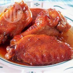 Photo de recette : Ailes de poulet sucrées et collantes