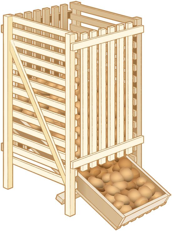diy produce storage bins diy rangements malins pinterest chambre froide froid et meuble. Black Bedroom Furniture Sets. Home Design Ideas