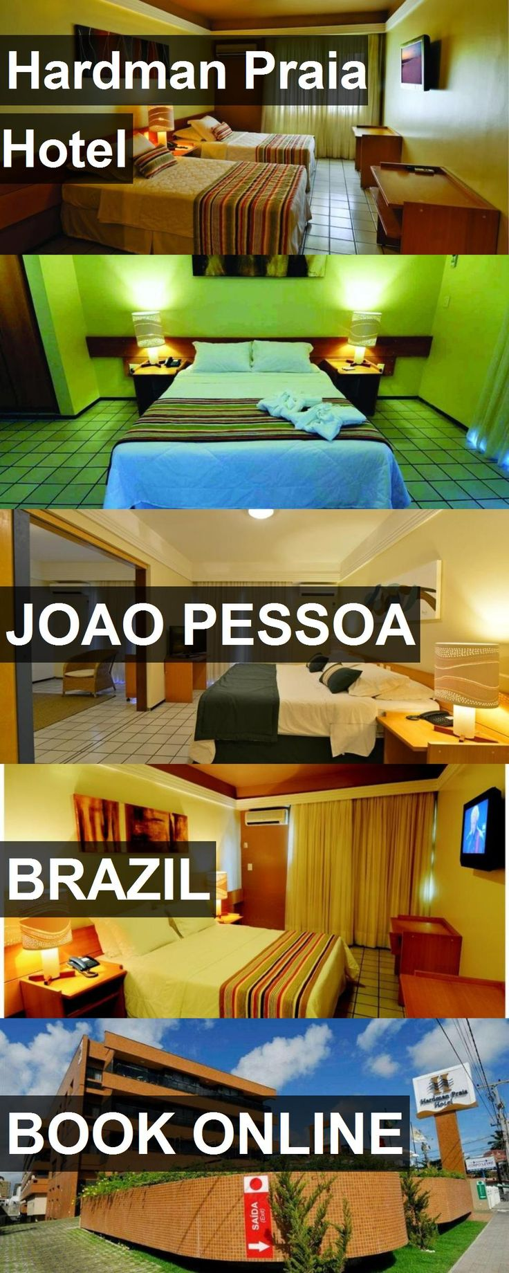 Hotel Hardman Praia Hotel in Joao Pessoa, Brazil. For more information, photos, reviews and best prices please follow the link. #Brazil #JoaoPessoa #hotel #travel #vacation