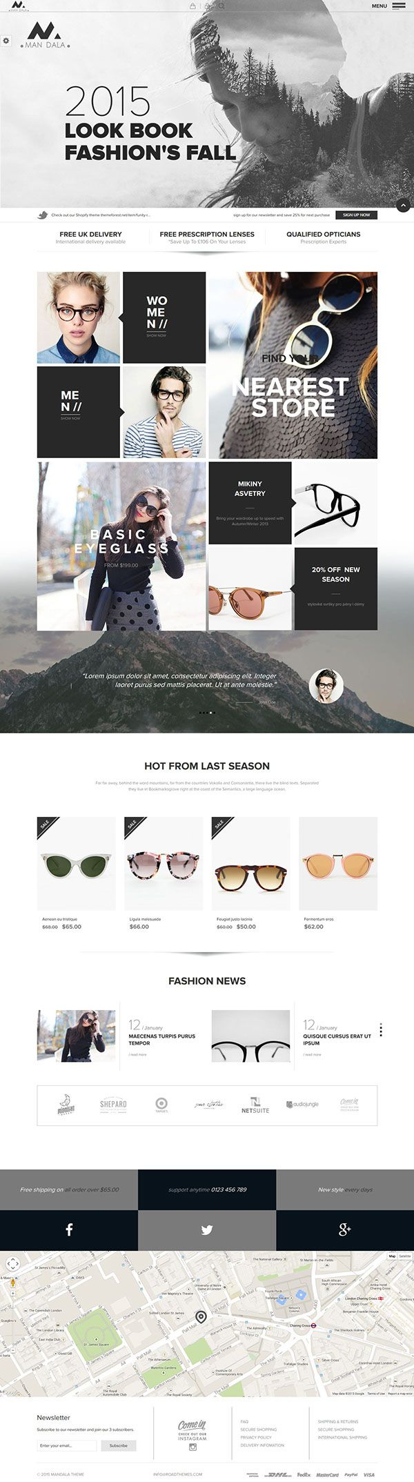 Mandala - Responsive Ecommerce Wordpress Theme on Behance