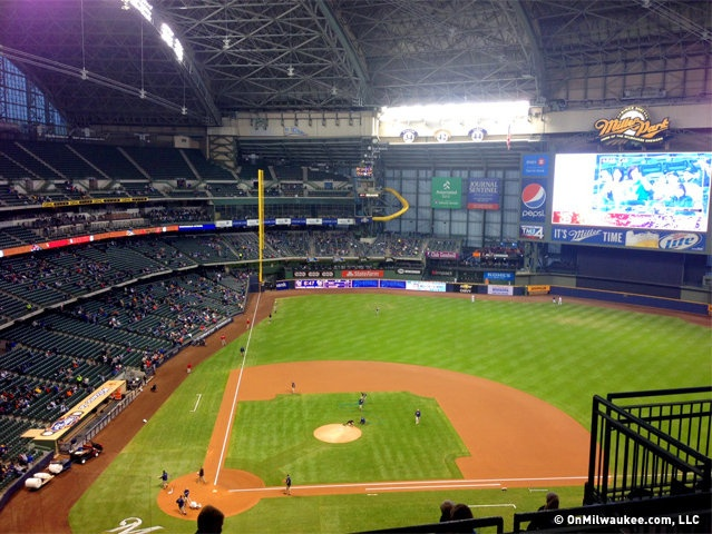 How to have a fun Family Day at Miller Park with a little one in tow...