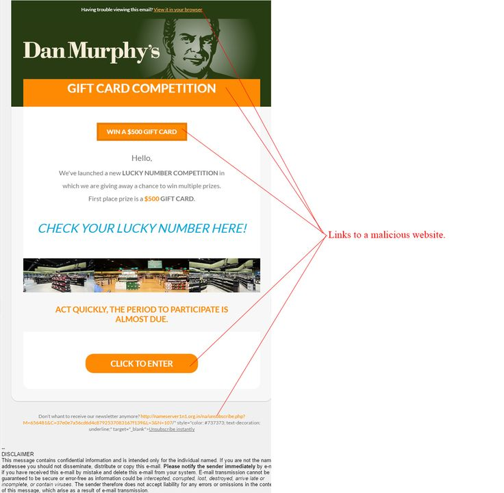 Dan Murphys Lucky Number Competition Scam - http://www.mailshark.com.au/recent-security-news/dan-murphys-lucky-number-competition-scam-24330