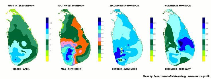 Sri Lanka's Monsoons