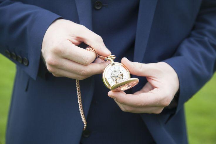 #wedding #vintage #groomsmen #pocketwatch
