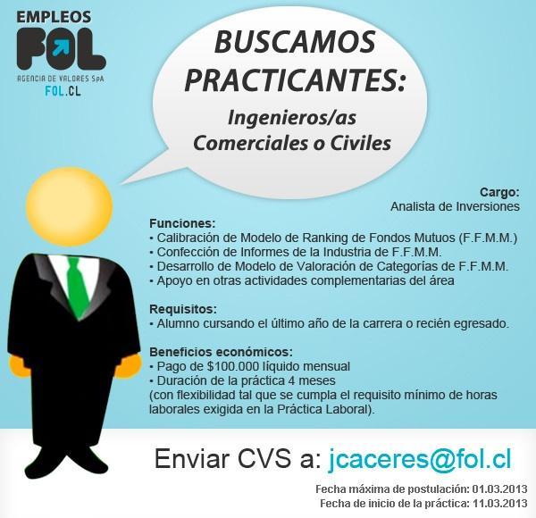 buscamos practicantes en www.fol.cl