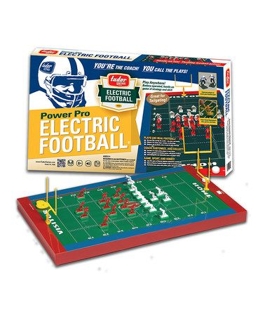 Should I get this for my brothers?! #retro Take a look at this Power Pro Electric Football Game by Tudor Games on #zulily today!