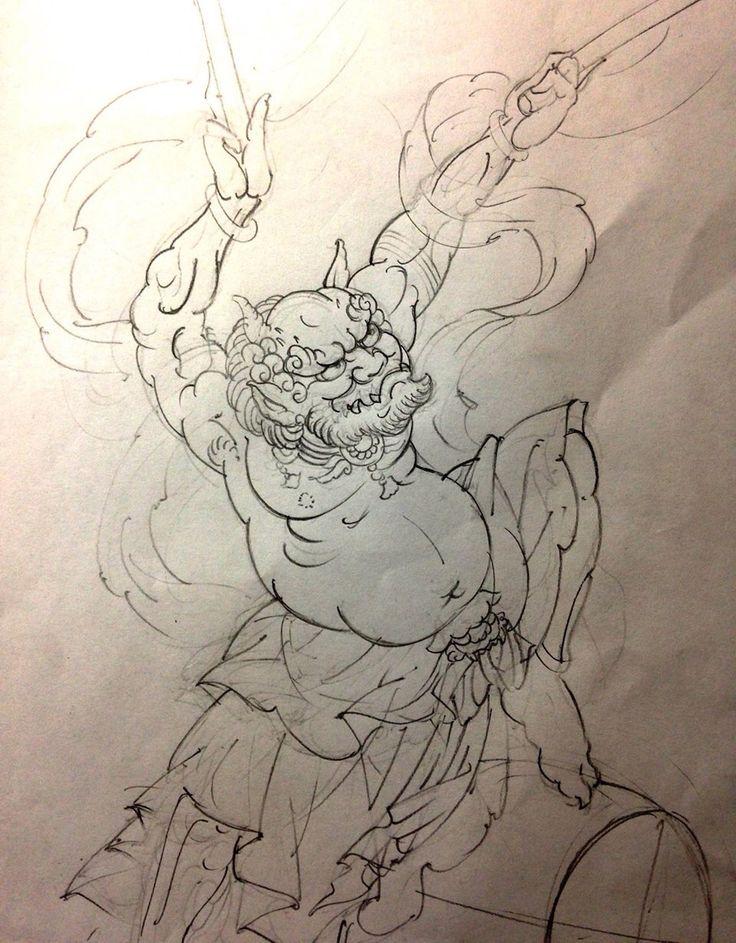Raijin by Horitada