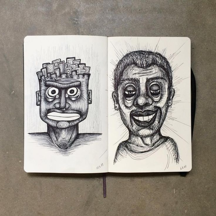 "Gefällt 105 Mal, 5 Kommentare - Janina Müller (@janinacarlottaeleonora) auf Instagram: ""New sketches in my #sketchbook #sketch #sketching #fineliner #fineart #doodle #drawing #draw #face…"""