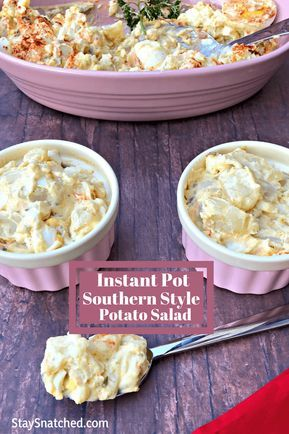 Instant Pot Southern Style Potato Salad Is A Quick And Easy Soul