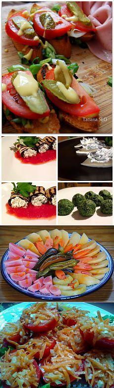 Бродилка по сайту Лёгкие овощные салаты и закуски (часть вторая)