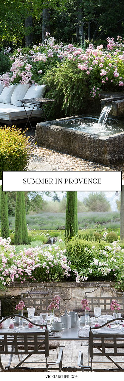 summer in st remy http://vickiarcher.com/2015/07/summer-in-st-remy/
