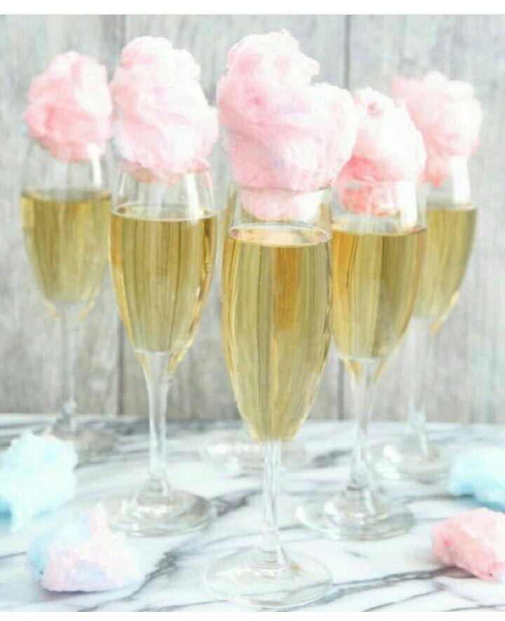 Champan y algodón de azúcar.....in love!!!!