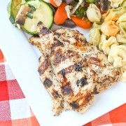 Greek Style Chicken Marinade - perfect for grilling! - Rachel Cooks
