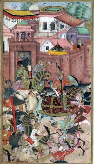 Babur in Samarkand?