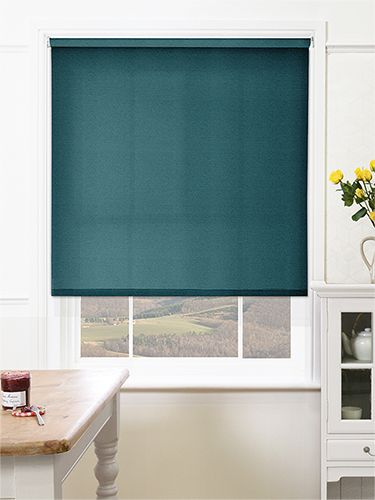 Valencia Simplicity Teal Roller Blind from Blinds 2go