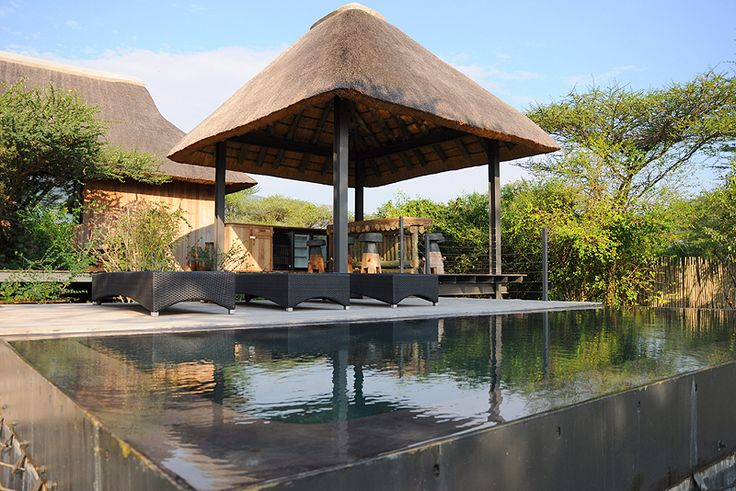 Imvubu Lodge at Royal Jozini, Swaziland Named Imvubu because a hippo used to sleep at the lodge site. Five bedrooms, rim flow pool, deck off bar and boma  See more of Imvubu Lodge at Royal Jozini Self Catering Cottage accommodation in Swaziland http://www.wheretostay.co.za/imvubulodge/