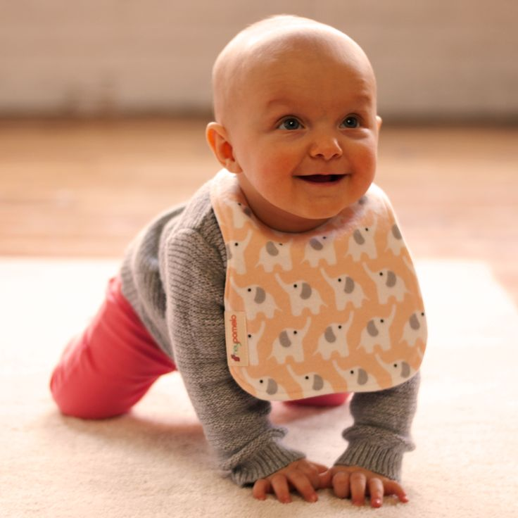 Organic cotton flannel baby bib. Spit bib, dribble bib and early feeding bib all in one. Classic baby bib with modern style and fit. eco friendly enviro repreve backing. Handmade in Canada