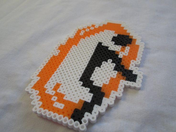 Portal Logo Jumbo Perler Sprite by colbyjackchz.deviantart.com on @DeviantArt