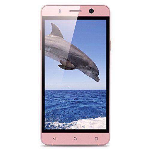 Landvo XM100 5,0'' Zoll 3G-Smartphone Dual SIM Handy Ohne Vertrag IPS HD Screen Quad Core 1.3GHz 1GB RAM+8GB ROM Dual Kameras Smart Wake GPS WIFI Bluetooth Rosa-Gold , http://www.amazon.de/dp/B01MTQ7FH9/ref=cm_sw_r_pi_dp_-4Osyb3T8JVCR