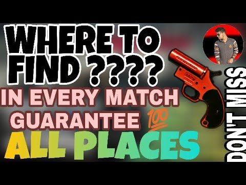 pubg flare gun locations all maps