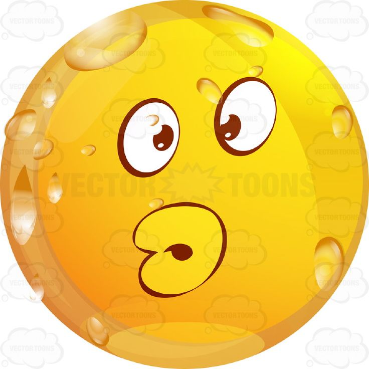 Pursed Lips, Puckerd Up Wet Yellow Smiley Face Emoticon With Full Lips #computer #droplets #emotion #expression #eyebrows #eyes #face #feeling #female #flirting #icon #kiss #love #mood #mouth #PDF #puckered #sexy #smiley #sour #teeth #vectorgraphics #vectors #vectortoons #vectortoons.com #water #wet