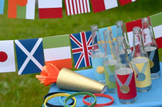 Fun ways to celebrate the Olympic Games with your family.