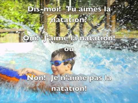 FRENCH oral practice for children: LES SPORTS - J'aime/Je n'aime pas ...