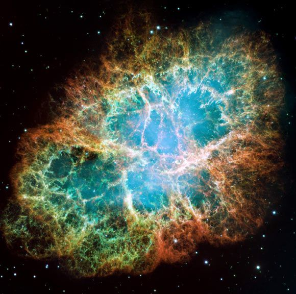 Noble Gas Molecule Detected in Space for First Time Dec 13, 2013 by Sci-News.com A molecule containing the noble gas argon has been discovered in the beautiful Crab Nebula, the remains of a star that exploded 1,000 years ago. Before the discovery, molecules of this kind have only been studied in laboratories on Earth.
