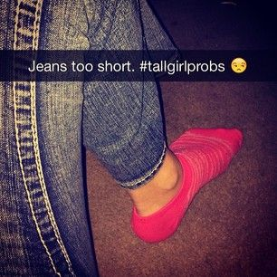"""Shopping for jeans is really easy!"" 