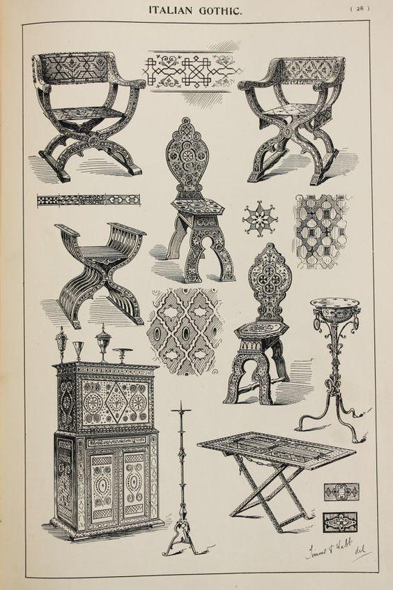 история дизайна готика картинки том, что
