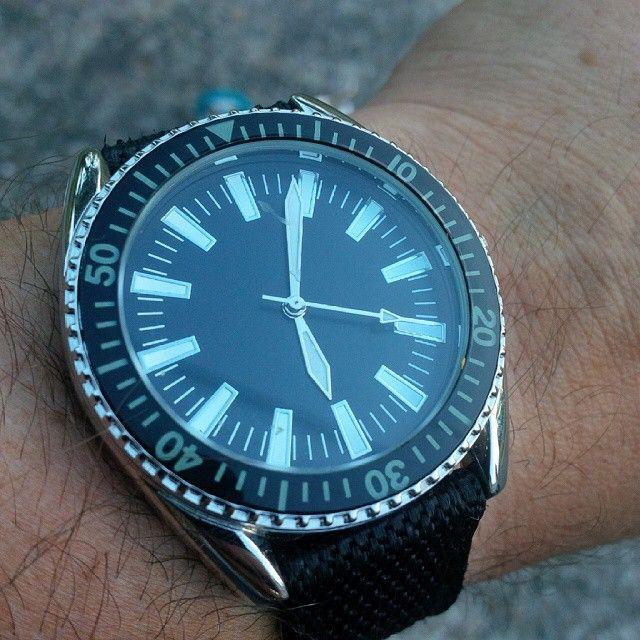#Eaglemoss Collections 1960's French navy watch replica. Probably my second favorite so far in the military watch collection.  #womw #wotd #TagsForLikes #TFLers @TagsForLikes #watch #timepiece #wristporn #watchgramm #wristshot #wristswag #wristgame #watchfam #wristwatch #watchesofinstagram #dailywatch #watches #watchgeek #watchnerd #instagood #igers #instalike #picoftheday #follow #me #fashion #style #personal #photooftheday #instadaily
