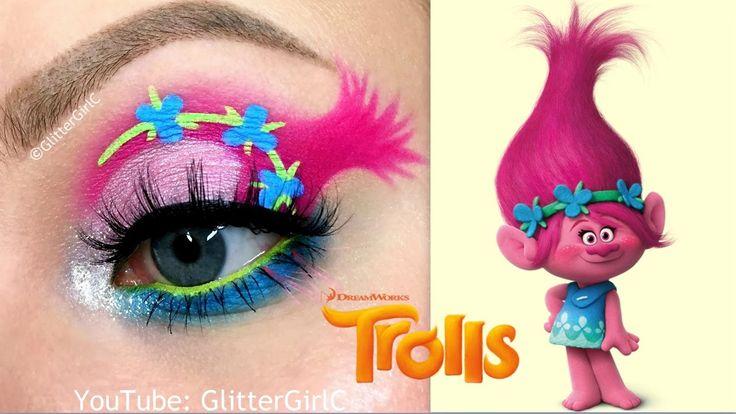 Trolls Poppy Makeup Tutorial
