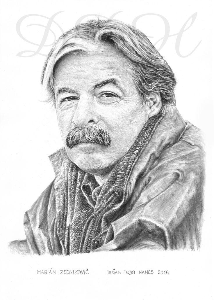 Marián Zednikovič, portrét Dušan Dudo Hanes