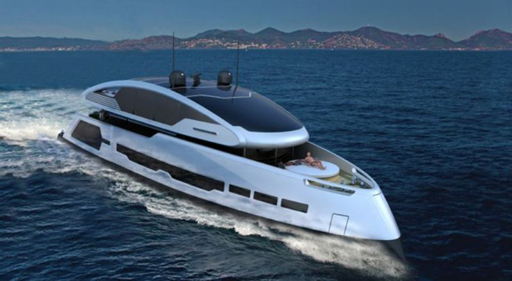 French superyacht - 26m concept: Su-36