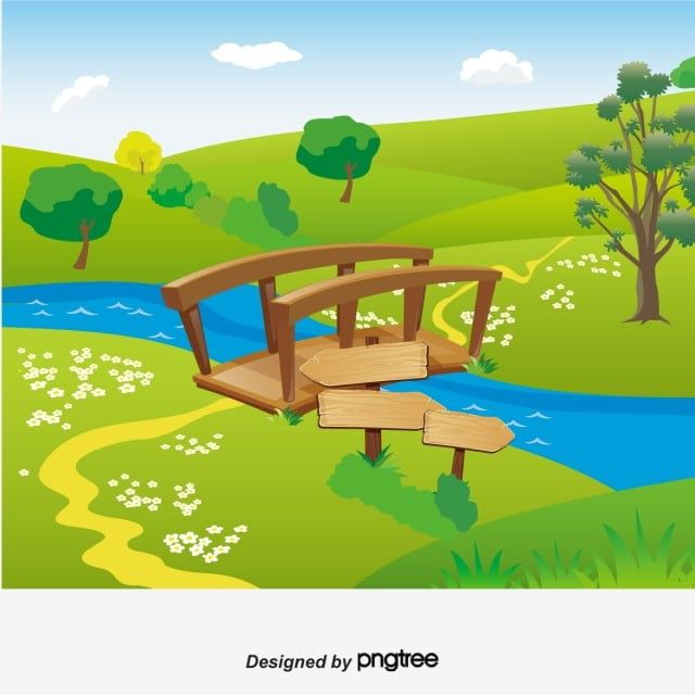 Cartoon Picnic Pilgrimage Background River Bridge Cartoon Vector River Vector Bridge Vector Png And Vector With Transparent Background For Free Download Cartoons Vector Cartoon Styles Cartoon