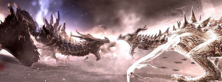 Alduin and Parthurnaax