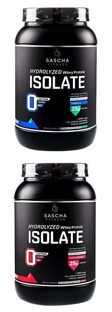 Other Sports Supplements: Sascha Fitness Hydrolyzed Whey Protein Isolate -> BUY IT NOW ONLY: $44.99 on eBay!