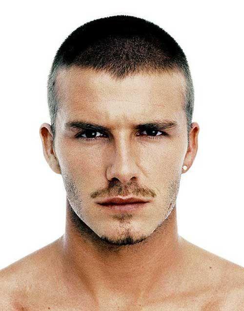 20+ David Beckham Cheveux courts