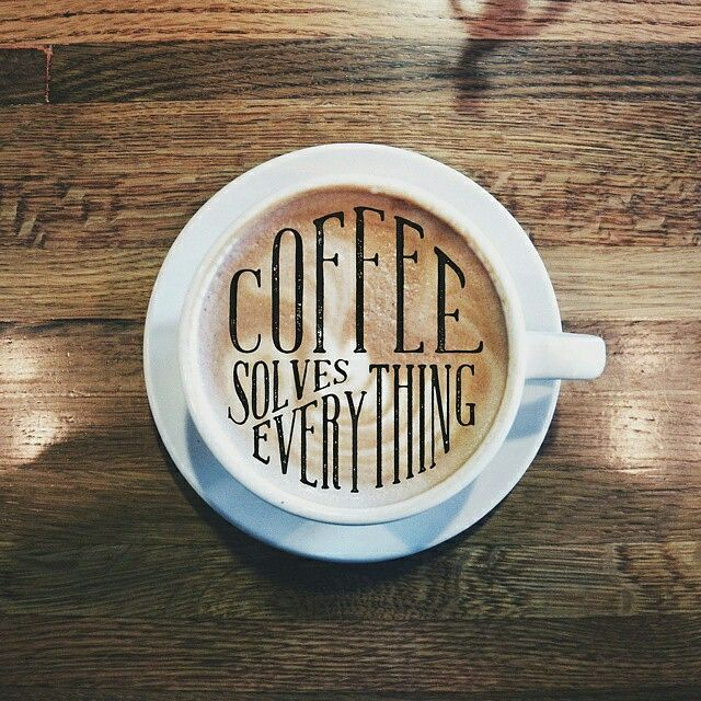 The best way to get through a Monday is to remember that coffee solves everything! ☕️✔  . . #coffeeday #cafe #cafevintage #cafemalang #malang #coffeetime #kopi #kopiku #kopimalang #makingcoffee #enjoy #coffee #latte #hotcoffee #coffeequotes #cappucino #morning #monday #coffeequotes