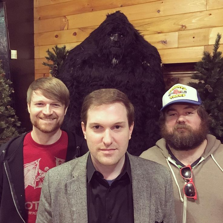 We befriended a Sasquatch. #spoilers  See this Instagram photo by @conspiracystuffshow • 241 likes