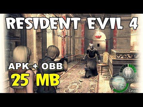 Resident Evil 4 Lite 25mb Android Resident Evil Evil Resident