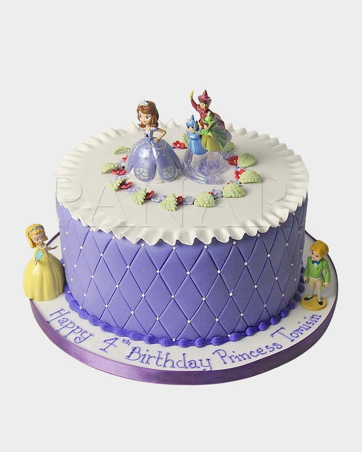 SOFIA THE FIRST CAKE CI9340 - Panari Cakes