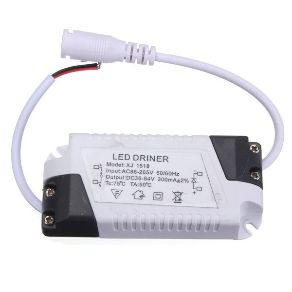 18w Led Driver Transformer Power Supply For Bulbs Ac86 265v Lighting Accessories From Lights Lighting On Banggood Com Led Drivers Led Light Accessories