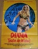 This is a wonderful German movie poster of the film I made entitled Eve but here called Diana!!! My co-stars were Christopher Lee, Herbert Lom and Robert Walker Jr, who played Charlie X on Star Trek!