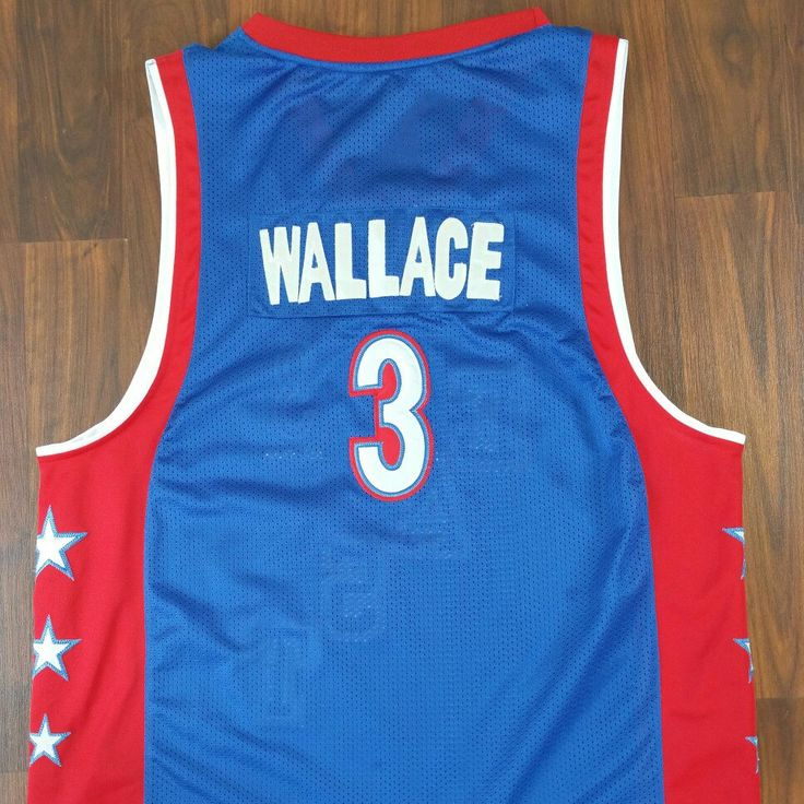 Big Ben Wallace is in the building. Swing by www.JustOneVintage.com and pick up this Fresh, Ben Wallace All Start Jersey Available on Our Etsy shop.