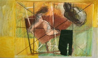 THINGS AND FIGURES - SKETCH - Maia Stefana Oprea, @saatchiart http://www.saatchiart.com/art/Painting-THINGS-AND-FIGURES-SKETCH/43191/2251301/view