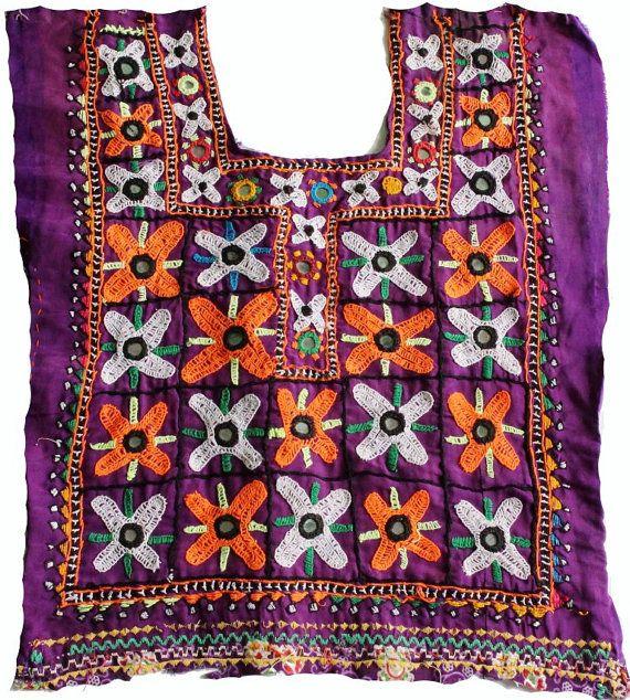 Indian vintage banjara neck yoke with hand by coloursofspirit