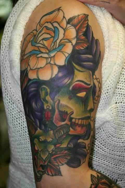 Michael Martinez.Thick as Thieves tattoo shop Denver, Co.