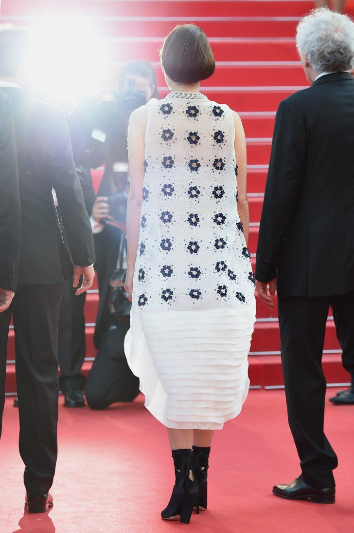 Pin for Later: The Prettiest Pictures You Haven't Seen From Cannes Marion Cotillard at the Two Days, One Night Premiere