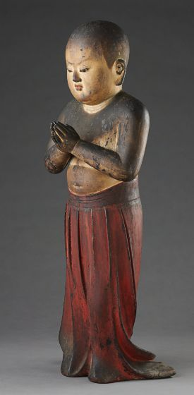 Prince Shotoku at Age Two, Japanese, Kamakura period, c. 1292, Harvard Art Museums/Arthur M. Sackler Museum.